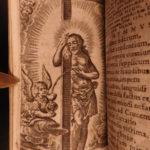 1691 German Nakatenus Bible ART Emblems Book Coeleste Palmetum Psalms Prayers