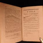1791 Bernardin Saint-Pierre Etudes of Nature Paul & Virginia Illustrated Botany