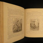 1875 1ed Mark TWAIN Sketches Samuel Clemens Jumping Frog Poultry Blue Cloth
