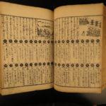 1893 Japanese Woodblock Handwritten Guidebook Meiji Bandai Ozassyo Kokon Taisei