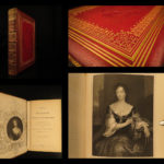 1852 EXQUISITE Memoirs of Women Charles II England Illustrated Portraits Jameson