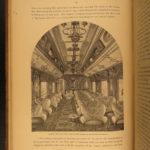 1879 Railway Guide RAILROAD Tourists COLORADO Chicago Illinois Illustrated MAPS