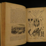 1864 1ed Speke Journal of Discovery of Source of Nile River Egypt Africa MAPS