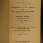 1885 TEXAS RANGERS Scouting Expedition of Ben McColloch Mexican War Sam Reid