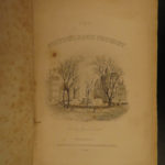 1844 Picturesque Tourist New York Canada New England Steamboat Illustrated MAPS