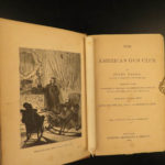 1874 Jules Verne From the Earth to the Moon Astronauts SciFi American Gun Club
