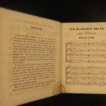 1864 Masonic Choir Sheet Music Hymns Quartet Freemasonry Civil War Military