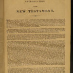 1817 Oxford Holy BIBLE Clarendon Press Illustrated Doyly Mant Commentary HUGE 3v