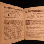 1653 Papal Bull Pope Innocent X Catholic Church France Louis XIV English Latin