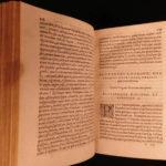 1566 Plutarch Moralia Greek Philosophy Essays Oracles Superstition Sagundinus