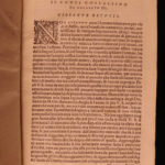 1581 1ed Boccaccio Genealogy of the GODS Roman Mythology Betussi Italian Zoppini