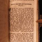 1788 Lutheran German Hymn Book Mecklenburg Germany Gesangbuch Songs RARE BINDING