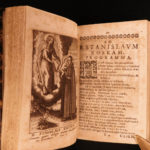 1634 Ignatius of Loyola & Jakob Balde Virgin Mary Sannazaro Cliens Marianus