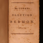 1787 1ed EARLY American Sermon by Joseph Lyman Shays Rebellion Revolutionary WAR