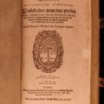 1571 Georg Witzel German Bible Commentary Lutheran Liturgy Gospel Mainz Woodcuts