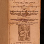 1648 1ed Helvetia Sancta Lives of SAINTS Switzerland Catholic Constantine Swiss