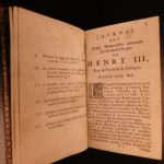 1666 King Henry III Catherine Medici French Memoirs Louyse Lorraine France WARS