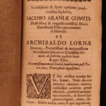 1672 1ed Thomas Bell Roma Restituta ROME Mythology Emperors Glasgow Scotland