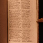 1791 Book of Common Prayer Church of England Bible Psalms Cambridge BEAUTIFUL