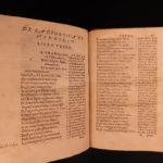 1545 VIRGIL Georgics Mythology Pastoral Poems Georgica Bernard Daniello Italian