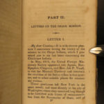 1831 Chickasaw Osage Chippewa Indians Missionary Letters Eliot Edwards Brainerd