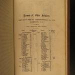 1865 1ed Confederate Prisons Andersonville Richmond Danville Savannah Civil War