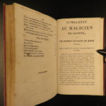 1829 MAGIC & Magician Card Tricks Ventriloquism Conjuring Magie Blanche Comte