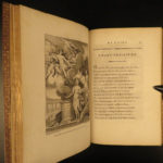 1773 EXQUISITE Temple Gnidus Montesquieu Greek Roman Mythology Aphrodite Venus