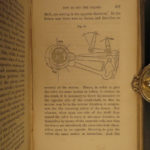 1864 Civil War RAILROAD Locomotive Engineer Norris Steam Engine Illustrated