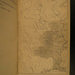1857 Catlin North American Indians Wild West Buffalo Hunting Illustrated MAPS