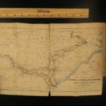 1865 1st ed Civil War Sherman Great March Georgia Carolina Nichols Illustrated
