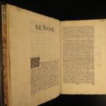1743 1ed Spanish Conquest of Mexico Solis Aztec Hernan Cortes Montezuma Salazar