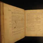 1756 1ed Elements EUCLID Greek Mathematics Logic Geometry Math Glasgow Scotland