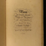 1833 ENORMOUS CASTLES Architecture Percier Fontaine Italy France Spain Russia