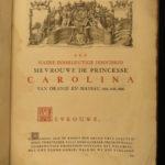 1751 1ed Haga Comitis ENORMOUS Illustrated Dutch Netherlands Prince Orange Hague