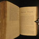 1783 John Bunyan Pilgrims Progress Illustrated Demons Allegory Calvinism Puritan