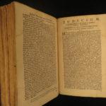 1705 Hebrew BIBLE Jan Leusden & Joseph Athias Judaica Utrecht Amsterdam Biblia