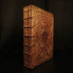 1723 FANFARE BINDING Holy Week Breviary Missal Catholic Church Illustrated ART