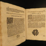 1681 Synod of Diocese of Alba ITALY Decrees Catholic Church Turin Saluzzo