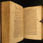 1693 1ed Inquisition History RARE Catholic Church Marsollier & Limborch French