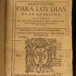 1613 Ángel Manrique Cistercian Bishop of Badajoz Catholic Spanish Valencia SPAIN