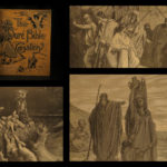 1880 Dore Bible Gallery Illustrated Gustave Dore ART 100 Engraved Bible Scenes