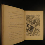 1876 1st ed Hunting of the Snark Lewis Carroll Illustrated Fantasy Alice Holiday