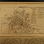 1829 St Petersburg RUSSIA Granville Travel Warsaw Poland Silesia Russian MAPS 2v