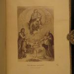 1866 1ed EXQUISITE Raphael Italian ART Painting Illustrated English Fine BINDING