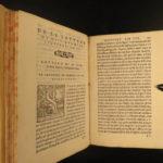 1554 RARE Italian Letters Bernardo Tasso Annibal Caro Tolomei Gonzaga Atanagi