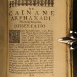 1655 1ed James Ussher Irish Bible Septuagint Old Testament Greek Bible ESTHER