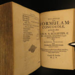 1685 Augsburg Confession Lutheran Reformation Martin Luther Rechenberg Concordia