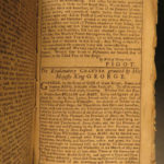 1768 1ed Colonial Americana Almanac Fletcher Massachusetts Bay Charter Plymouth