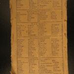 1768 1ed Colonial Americana Almanac Fletcher Massachusetts Bay Charter Plymouth